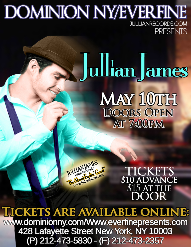 Jullian James Julian dominion ny ever fine live jullianjames